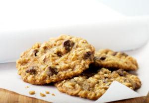 Biscuits aux raisins secs et d'avoine