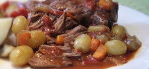 Bœuf braisé aux pommes de terre