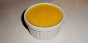 Crème au citron légère